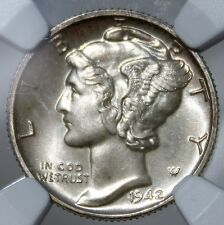 #~☆PF-67!☆~ 1942 Mercury Dime NGC The CHEAPEST ONE on Ebay BEAUTIFUL!!!