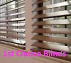 MADE TO MEASURE WOODEN VENETIAN WINDOW BLIND TOP QUALITY REAL WOOD