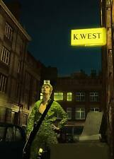 BOWIE ZIGGY STARDUST MINI LAMINATED A4  POSTER HEDDON STREET style 12