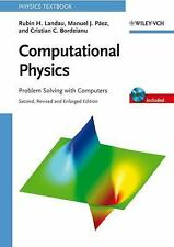 Computational Physics: Problem Solving with Computers, Bordeianu, Cristian C., P