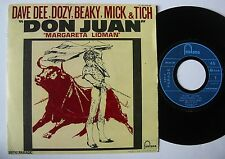 "DAVE DEE DOZY BEAKY MICK & TICH (SP 45T 7"") DON JUAN - FRANCE 1969"