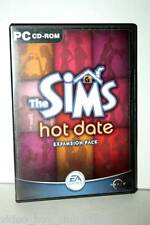 THE SIMS HOT DATE EXPANSION PACK GIOCO USATO OTTIMO PC CD ED ITALIANA FR1 31467