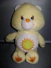 """CARE BEAR FUNSHINE BEAR, 9"""" TALL SUN ON TUMMY 2002"""