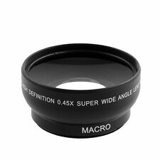 52mm Fisheye 0.45x Super Wide Angle Lens With MACRO For Nikon D3200 D5200 D5100