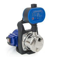 Combo 1.5 HP 1200W Jet Shallow Water Well Booster Pump w/ Pressure Controller