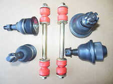 6 Piece 2 Upper 2 Lower ball joint 2 Sway bar link Fit Cadillac Chevy GMC 4WD