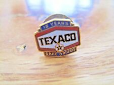 Texaco Safe Driver Pin Back--15 Years--1/10 10K Gold Filled