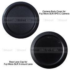 Corps Couvre arrière Bouchon Cache Objectif pour Fujifilm Micro SLR APS-C Camera