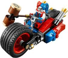 LEGO DC COMICS SUPER HEROES HARLEY QUINN MINIFIGURE & BIKE- SPLIT FROM SET 76053
