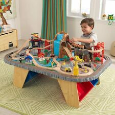 KidKraft Waterfall Junction Train Set & Table Kids Boys Toy Thomas The Tank Brio