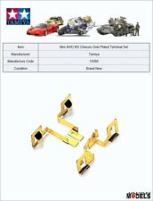 Mini 4wd GOLD PLATED TERMINAL SET (FOR MS CHASSIS) Tamiya 15360 New Nuovo