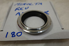 genuine bronze Minolta MD MC 49mm reverse mount  adapter japan used