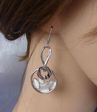 ELEGANTE Orecchini argento perla ,cerimonia ,donna,idea regalo