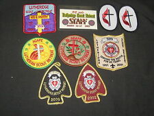 Lutheridge Boy Scout Patches, Ribbons, and Name tag, 1980 - 00s     eb13