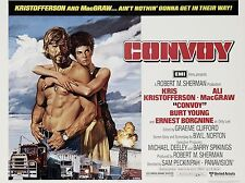 "Convoy 16"" x 12"" Reproduction Movie Poster Photograph"