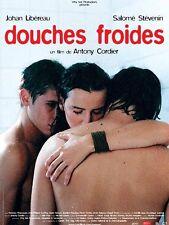 Affiche 120x160cm DOUCHES FROIDES (2005) Johan Libéreau, Salomé Stévenin NEUVE