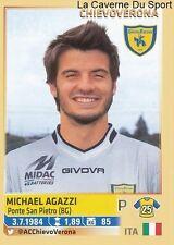 MICHAEL AGAZZI # ITALIA CHIEVO VERONA RARE UPDATE STICKER CALCIATORI 2014 PANINI