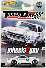 70 CHEVY CHEVELLE - 2016 Hot Wheels Car Culture TRACK DAY - D Case -