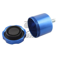 CNC Car Racing Drift Hydraulic Hand Brake Oil Tank Fluid Reservoir E-brake Blue