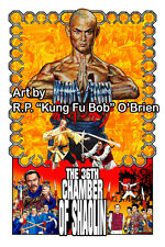 The 36th Chamber of Shaolin Gordon Liu Shaw Brothers master killer art print