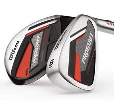 Wilson ProStaff Combo Herren Golf Komplettset 2017 Eisen 6-SW Hybrid 4 & 5 Stahl