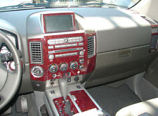 Fits Nissan Maxima 95-99 WOOD CHROME OR CARBON FIBER DASH KIT TRIM PANEL PARTS