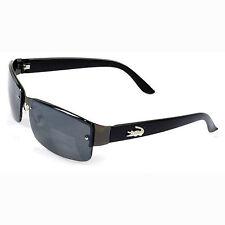 Stylische Sonnenbrille BL014, Schwarz, Randlos, total cool