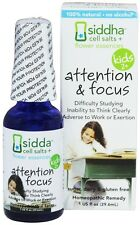Siddha - Cell Salts + Flower Essences Kids 2+ Attention & Focus Homeopathic
