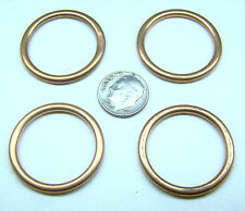"4  M939 M939A1 MS35769-21 NEW DRAIN PLUG COPPER SOFT CENTER GASKET 1"" ID .094""T"
