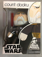 2008 STAR WARS MIGHTY MUGGS COUNT DOOKU LIGHTSABER VINYL ACTION FIGURE FUNKO POP