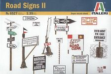 Italeri 1/35 6527 Road Signs II (WWII Military Diorama & Accessories Series)