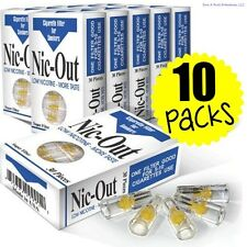Nic-Out Disposable Cigarette Filters 10 Packs (300 filters) ~ Free Shipping