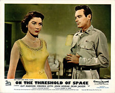 ON THE THRESHOLD OF SPACE ORIGINAL LOBBY CARD GUY MADISON VIRGINIA LEITH