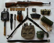 DRAGON 1/6th SCALE GERMAN WWII  GEW43 AND ARMY EQUIPMENT SET