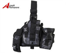 Tactical Military Hunting Molle Pistol Gun Drop Leg Thigh Holster Pouch Typhon