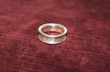 AUTHENTIC Tiffany & Co. 1837 Wide Ring Size 6 FAST FREE SHIPPING