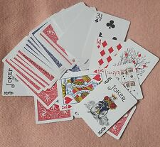 Nifty FIFTY6 Gaff Card Deck, All Bicycle Cards, Full 56 Card Deck (2065)