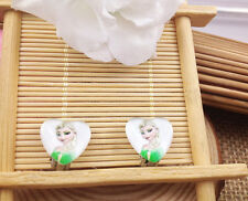 Hot  1 pair Frozen Princess Elsa Anna Earrings fashion Jewelry  Gifts K6 #/