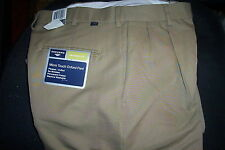 NEW! $48 DOCKERS MICROTOUCH OXFORD PANTS-BEIGE-30X32
