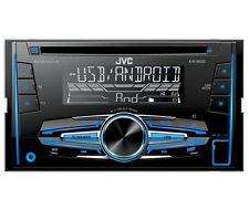 Radio Jvc Doppio Din USB AUX Nissan Qashqai anno j10 02/2007-11/2013 Nero