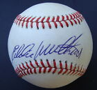 EDDIE MATHEWS Autographed Signed Baseball Feeney  PSA/DNA  V48150