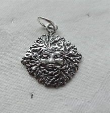 GREENLADY GODDESS OF THE WOOD WICCA PAGAN 3D CHARMS CHARM 925 STERLING SILVER