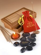 Romántico Spa Hot Rocks Pack Regalo Piedra Terapia Relajante Perfumado Masaje Kit