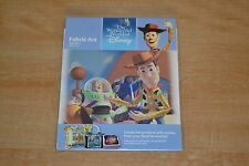 The Wonderful World of Disney Fabric Art Toy Story We're Toys! 2006 NEW