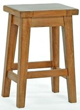 Reguiny New Solid  Oak Breakfast Kitchen Dinning Table Bar Stool Pre Built