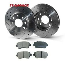 VOLKSWAGEN GOLF 4 Front Brake Discs SLOTTED/PERFORATED 280 mm + Pads