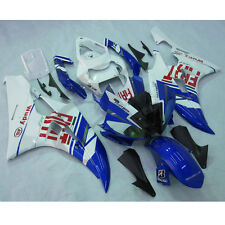 Injection ABS Plastic Fairing Kit For YAMAHA YZF R6 YZF-R6 2006-2007 Blue FIT