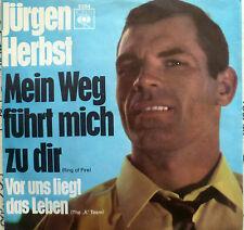 """7"""" 1968 CV! JÜRGEN HERBST Mein Weg führt zu Dir /MINT-"""