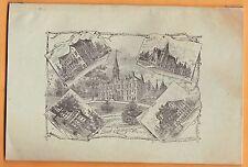 1892-93 Drake University catalog, Des Moines IA, 800 names RARE not repro