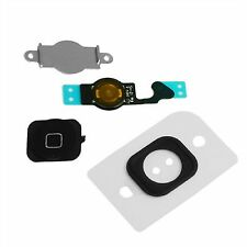NEW Replacement Black Home Button With Flex Cable Seal & Bracket For iPhone 5